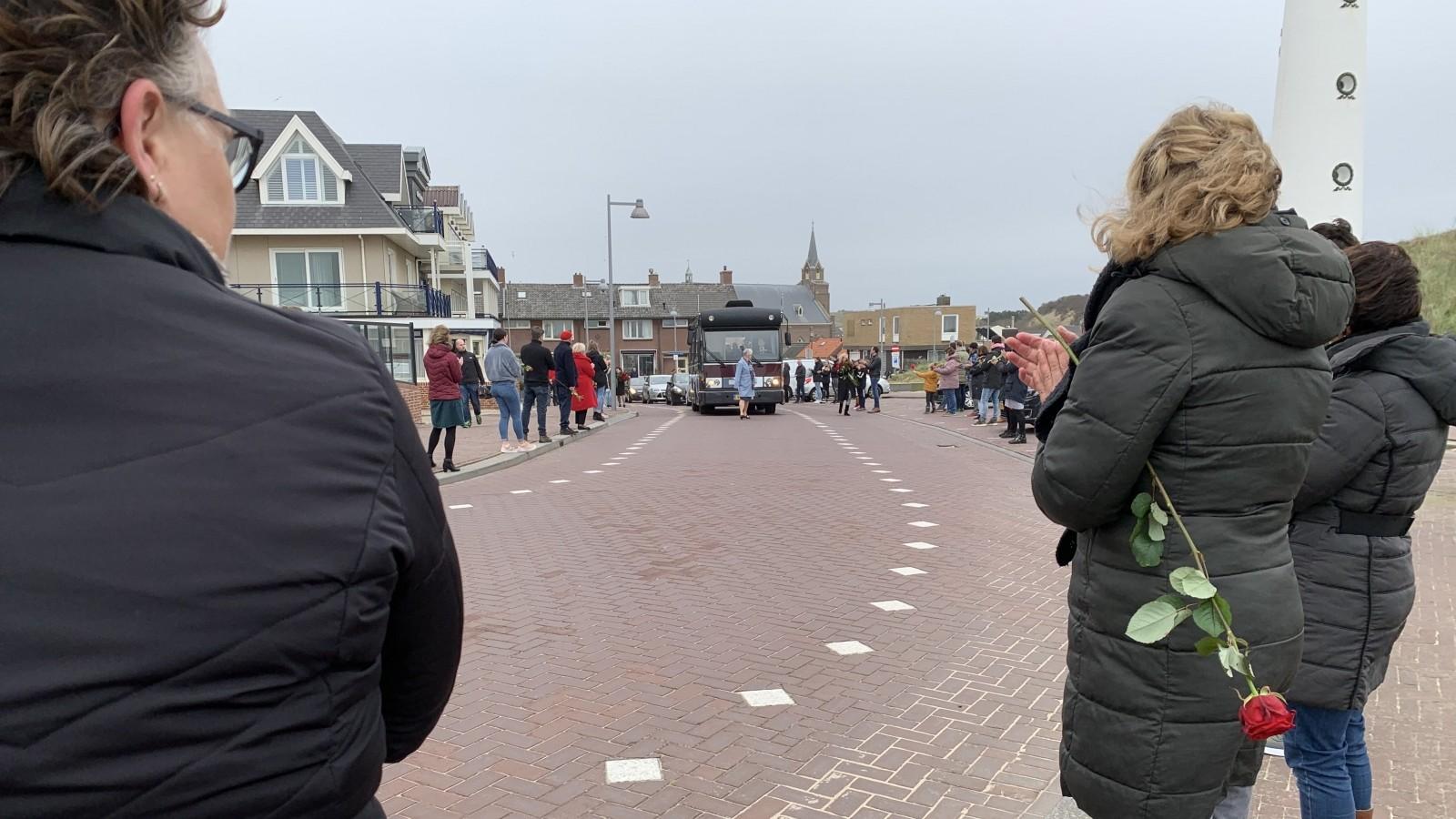 Erehaag door Egmond aan Zee