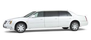 Cadillac-wit-7-persoons-volgauto Charon uitvaart SV