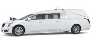Cadillac-wit-Landaulet-rouwauto Charon uitvaart SV