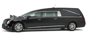 Cadillac-zwart-Landaulet-rouwauto Charon Uitvaart SV