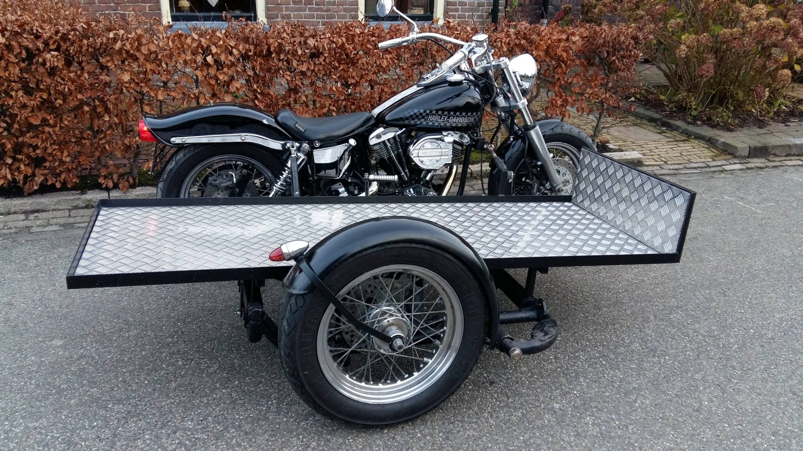 Rouw Harley Davidson Charon Uitvaartbegeleiding