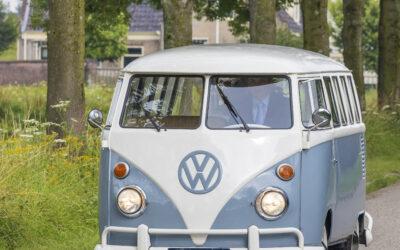 Nieuw! oldtimer VW-busje