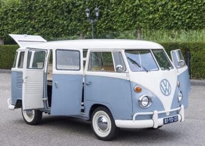 Zijkant VW busje